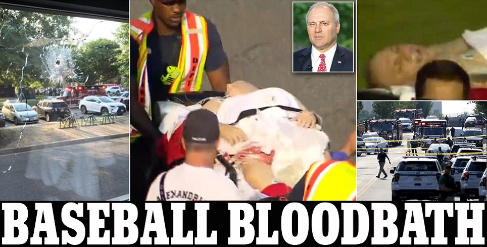 Steve Scalise shot at baseball practice in Alexandria