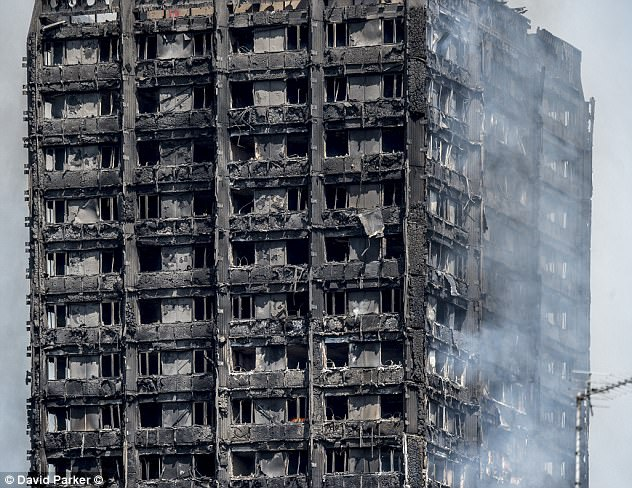 There are fears that that no one who lived on the top three residential floors may have survived the unprecedented fire