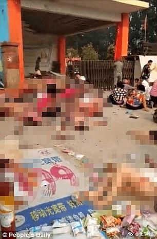 Ocho personas han muerto y 65 están heridos tras la explosión en China