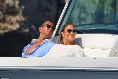 Going swimmingly: As there have been many rumors about her relationship with the 41-year-old former baseball player, they proved that they are still very much together