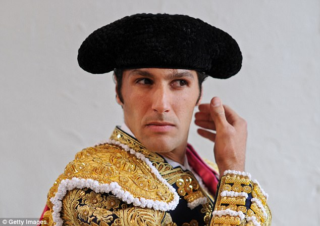 Ivan Fandino was a famous, award-winning bullfighter. Pictured: The matador in 2012