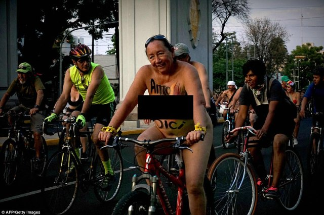 The WNBR site proclaims: 'We propose a model of a city where people recover their space. Free your mind and your body!'