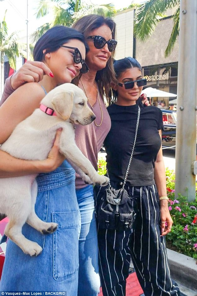 Fences mended?: Kendall and Kylie had both joined Caitlyn at the Father's Day car show this Sunday, appearing to fly in the face of rumors the two daughters were still bristling at Caitlyn over the contents of her recently published tell-all memoir The Secrets Of My Life