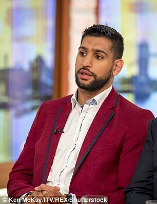 El boxeador musulmán ha hablado previamente acerca de sus preocupaciones no habría ataques 'venganza' de extremistas siguientes las atrocidades terroristas en Manchester y Londres