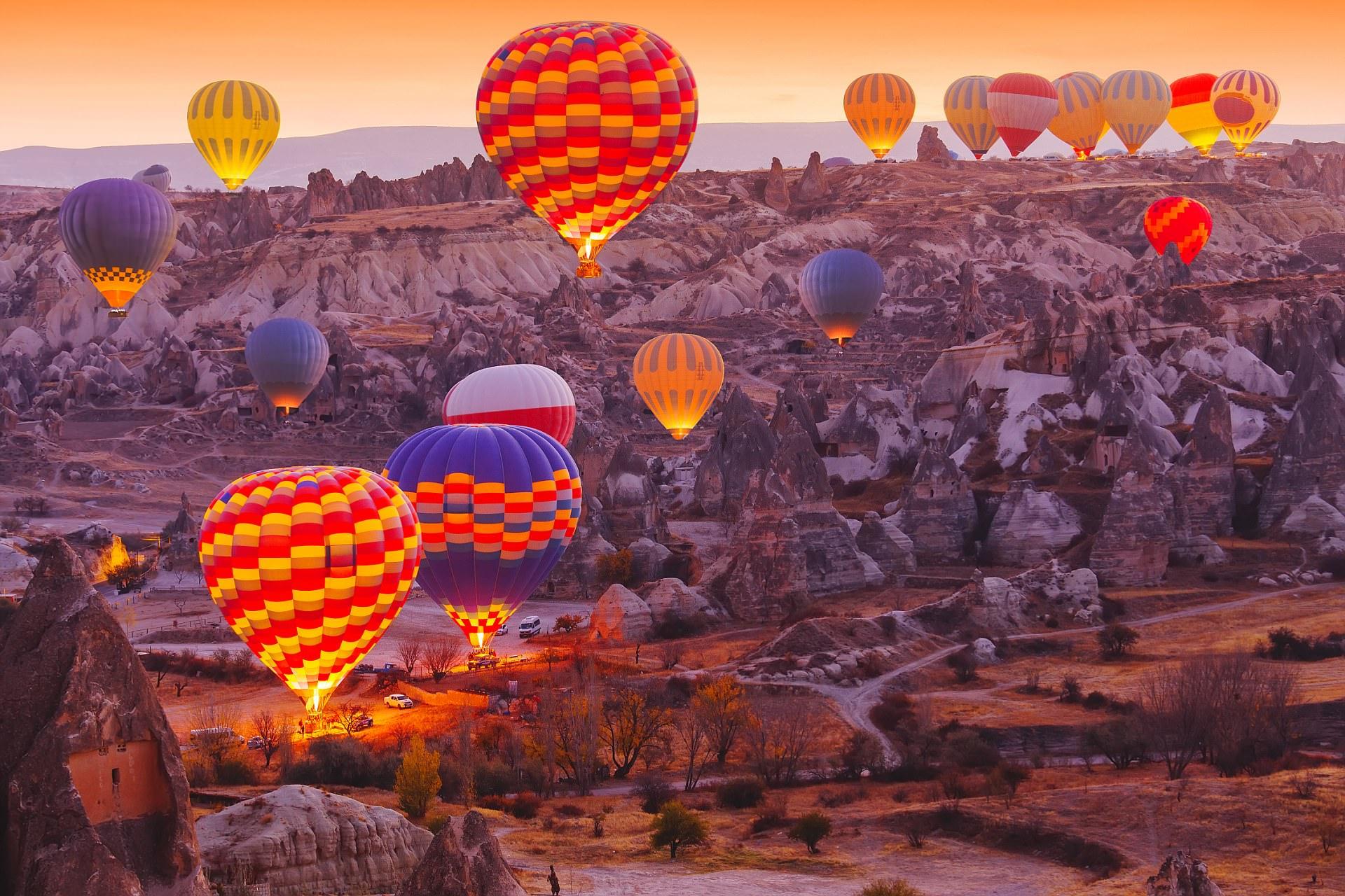 Cappadocia mountains