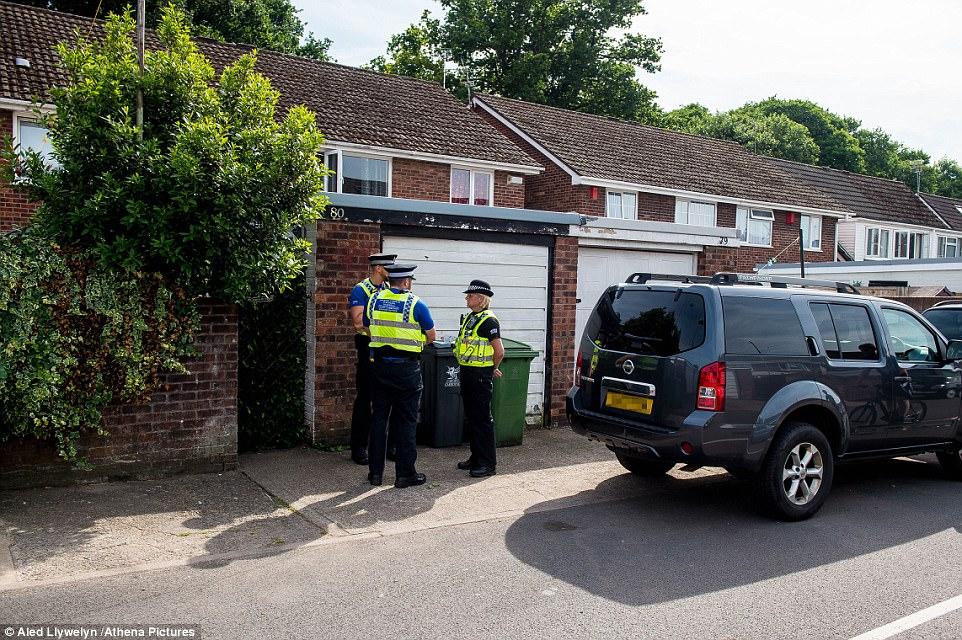 La policía está buscando la propiedad como parte de la investigación sobre el ataque de Finsbury Park.  Sólo se ha hecho un arresto