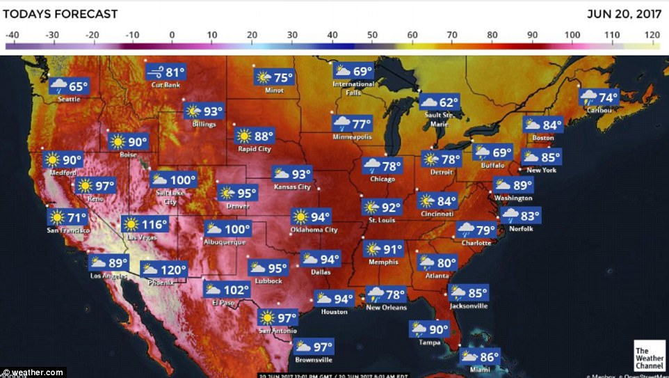 The first day of summer is being marked in the Southwestern part of the United States with a punishing heat wave that has caused flights to be canceled in Phoenix