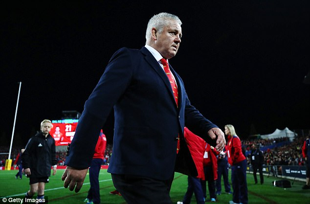 Lions head coach Warren Gatland is preparing his side for the first Test at Eden Park