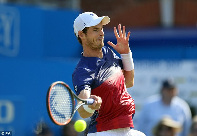Andy Murray is out of Queen's in the first round after losing against Jordan Thompson