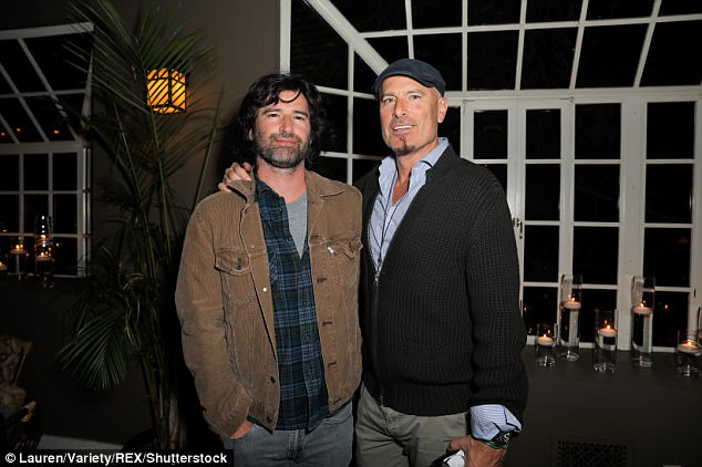 Proud family: He also has two famous brothers as Pete Yorn (pictured) is a longtime musician and Rick Yorn is a producer of films including Leonardo DiCaprio flick the Wolf Of Wall Street
