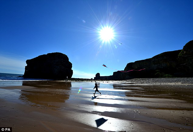 The researchers speculate that levels of vitamin D from sunshine, as well as seasonal illness could explain why September babies are healthies (file image)