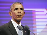 Bosses at CBS Radio in New York City yelled 'Obama!' at a female African American employee when she entered the office, according to her lawsuit (File photo)