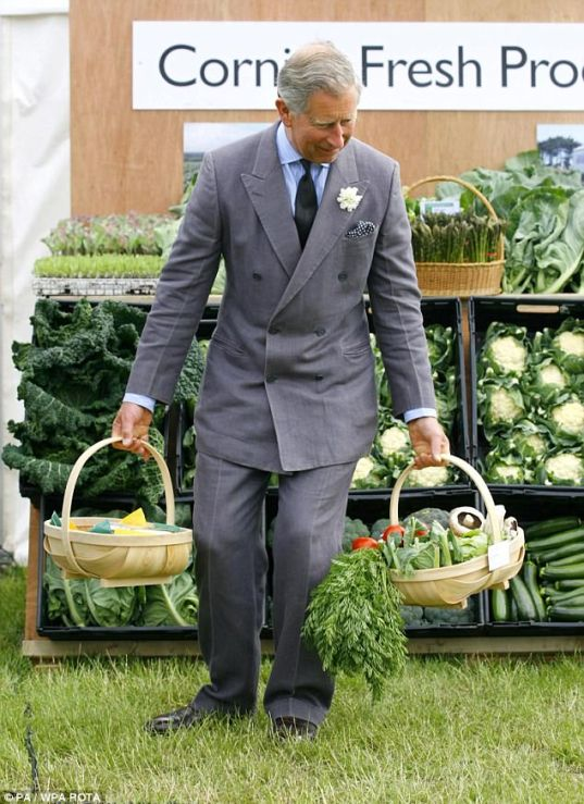 Prince Charles says future may depend on organic farming | Daily ...