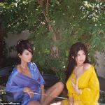Kendall And Kylie Jenner In Sultry Shoot