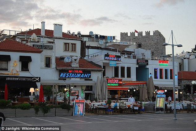 The attack happened in the resort of Marmaris, where the woman was holidaying with her 20-year-old daughter in May