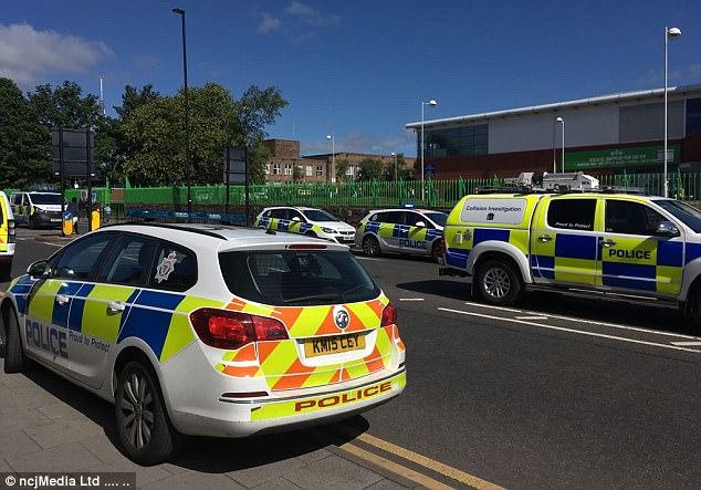 El evento provocó pánico sólo una semana después de presunto terrorista Darren Osborne, de 47 años, condujo en forma deliberada fieles fuera de la mezquita de Finsbury Park en Londres