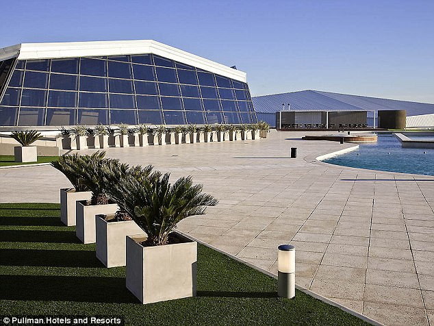 The huge venue is set to host the spectacular event with a number of Barcelona stars invited