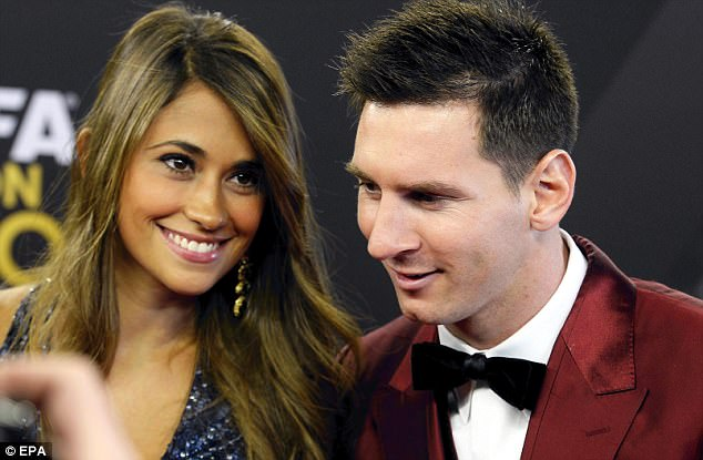 Messi and Roccuzzo officially started dating in 2008 and have attended many events together