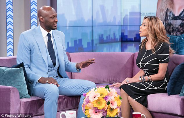 Image result for lamar odom july 2017 wendy williams