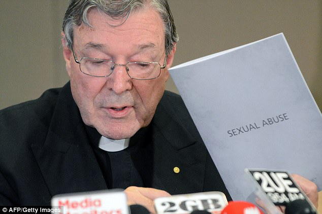 The Sano taskforce, which investigates allegations of sexual abuse, has been investigating Cardinal Pell since 2016