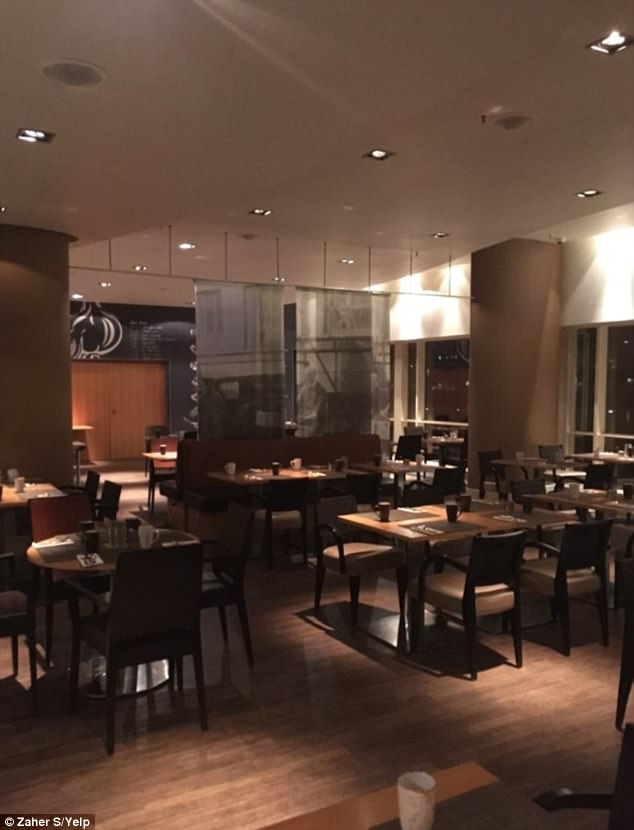 Drinking at the Marriott, Copenhagen: Davidson claimed he was having some beverages at the hotel above