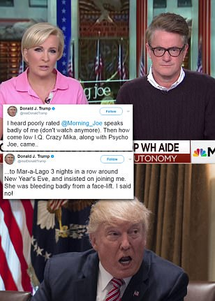 Trump goes to war with MSNBC's Morning Joe
