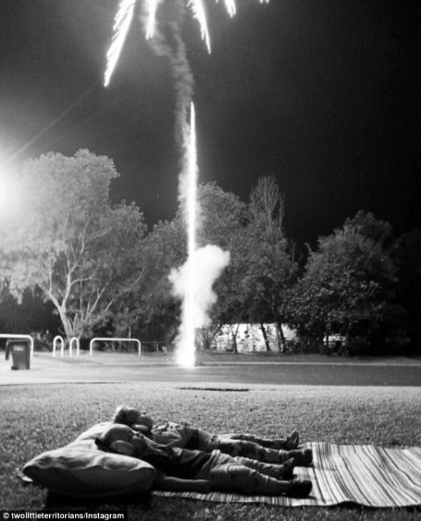 Wildest night Australian calendar Territory Day fireworks ...
