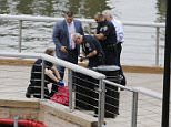 Part of a leg was found in the Hudson River near the W 79th Street Boat Basin, pictured, Saturday morning by a female jogger. Police believe the leg belongs to a missing New Jersey woman