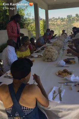 Fancy fete: The Sunday Funday was enjoyed by many family and friends