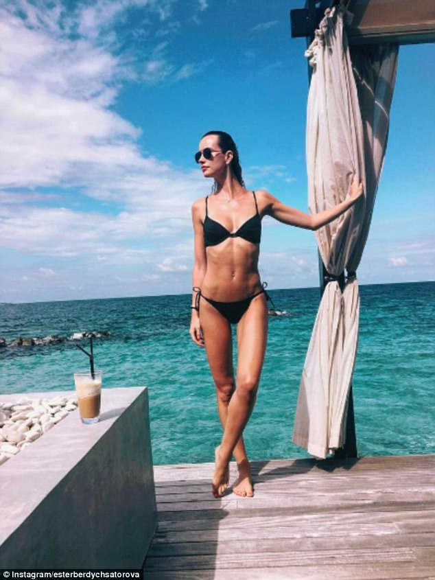 The Czech model is not shy about flaunting her enviable lifestyle (and her stunning figure) on Instagram