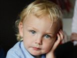 Pictured: Three-year-old Liam Roberts