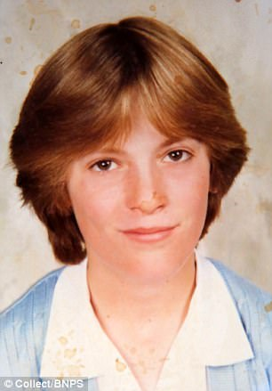 Dawn Clark, aged 15 in the picture above, was raped as she walked to her home in Poole, Dorset