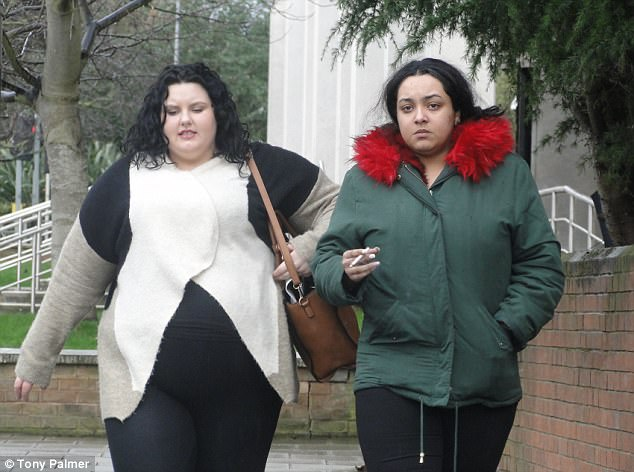 Paige Springer (left) and TanishaWilliams (right) have been sentenced to 28 months after their sickening 24-hour attack on James Liddell in Williams' flat in Battersea