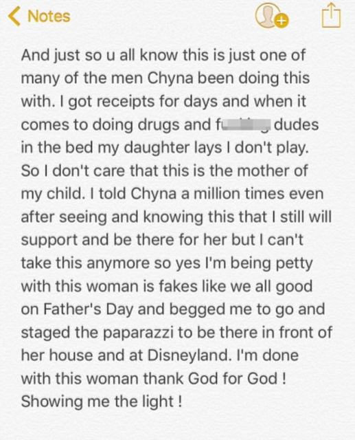 Post 9: Rob claimed their recent trip to Disneyland was staged for their image