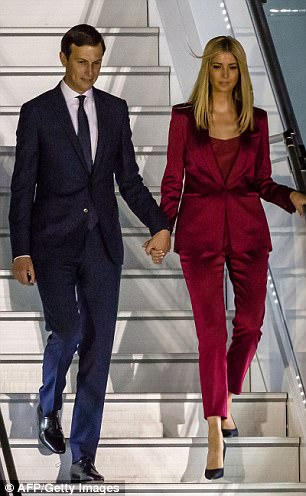 Ivanka and Jared land in Poland