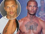 Jeremy Meeks, 33, rose to model fame after his mugshot went viral in 2014. Meeks is a noted Crips gang member in Stockton, California. A mother has spoken out against his newfound modeling success because her 15-year-old son was killed by members of his gang in 2004. Pictured: Meeks walking in the Plein Sport show for Milan Men's Fashion Week in mid-June