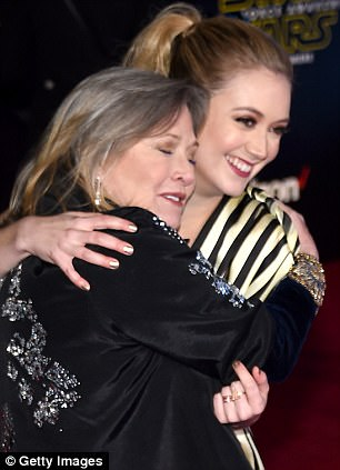 Pictured: The mother and daughter in December 2015