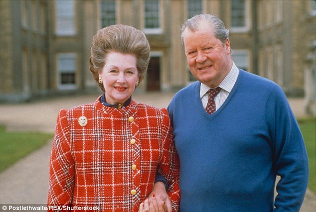 Countess Raine Spencer and Earl Edward Spencer at Althorp, Northampton in 1988