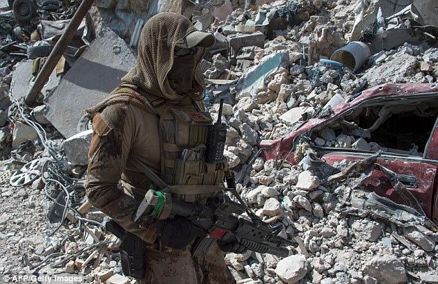 Los comandantes estadounidenses dicen que la lucha por volver a tomar la Ciudad Vieja de Mosul vio el combate callejero más intenso desde la Segunda Guerra Mundial