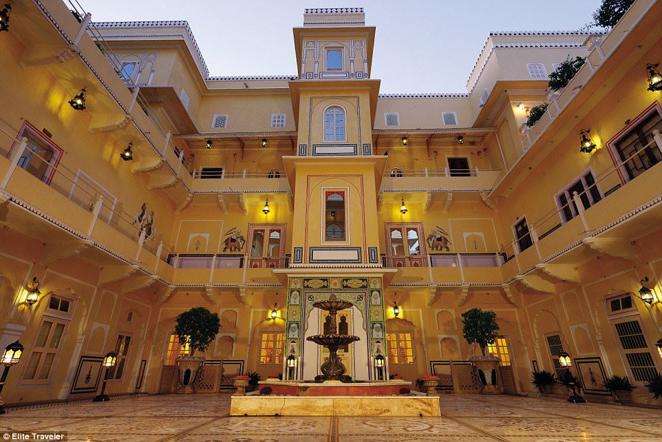 Get saving! The four-floor, 16,000-sq-ft apartment at the Raj Palace, Jaipur, is perhaps unsurprisingly the largest suite in Asia and was once the home of the maharajah