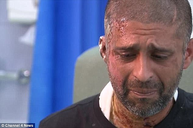 Miss Khan's cousin Jameel Muhktar also suffered 'life-changing' burns in the attack on June 21