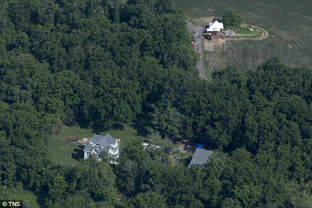 District Attorney Matthew Weintraub said evidence has been found at the property near the main house and barn