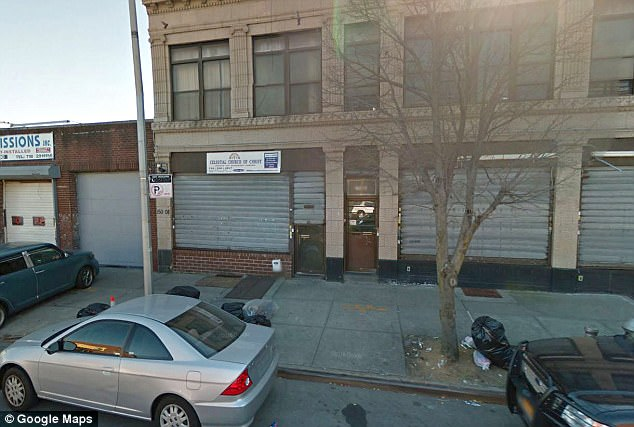 A married mother-of-two leaving Celestial Church of Christ (file above) after praying was robbed and sexually assaulted at gunpoint by five young men in Queens, police say