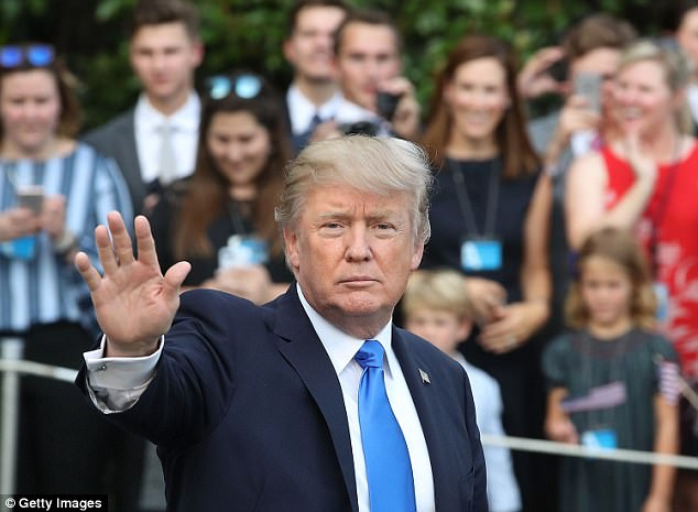 Mr Howard, who served as Australia's prime minister from 1996 to 2007, said Australia should give US President Donald Trump a chance