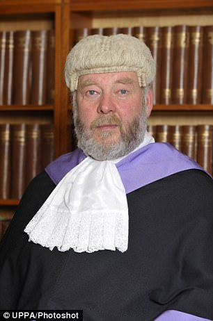 Judge Philip Shorrock has been reprimanded
