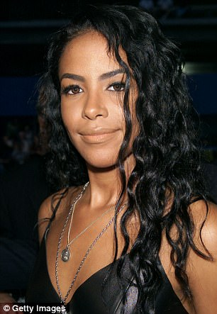 "Aaliyah arriving at the MTV 20th Anniversary party, ""MTV20: Live and Almost Legal"" at Hammerstein Ballroom in New York City on 8/1/01"