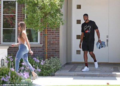 New abode? Bel-Air has some of the priciest mansions in LA and Khloes sister Kim and husband Kanye West have been extensively renovating an estate there for several years