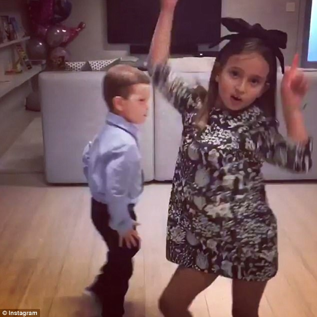 Dance it out! On Wednesday evneing, Ivanka shared a fun-filled video of her eldest two children dancing around their D.C. home to Justin Bieber's hit Despacito