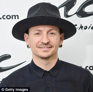 Chester Bennington, 41, (pictured in February) killed himself in his home in Palos Verdes near Los Angeles shortly before 9am on Thursday