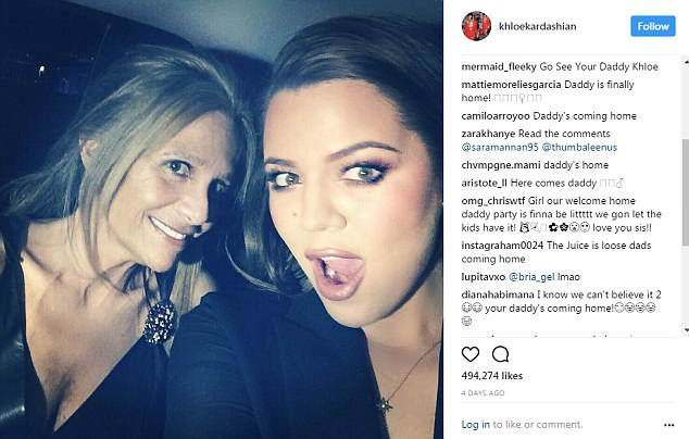 Khloe Kardashian Trolled On Instagram About OJ Simpson